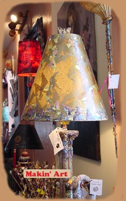 Nancy usually has a variety of lamps for sale